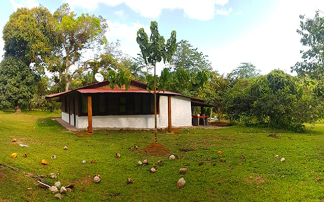 Renting an house in Costa Rica at Casa Mairena, Caño Negro